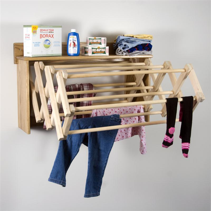 An Accordion Drying Rack Is Great For Es And Small Laundry Rooms